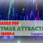 2015 No Entrance Fee Christmas Attractions for Kids in Manila
