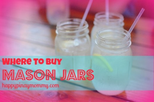 Buy Mason Jars in the Philippines
