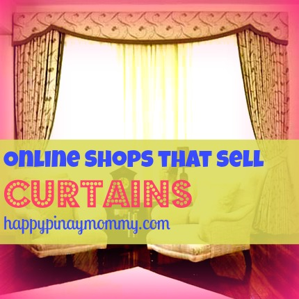 Online Shops that sell Curtains in the Philippines. (Photo Credits)