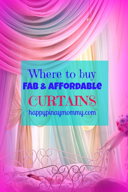Where to buy curtains in the Philippines.