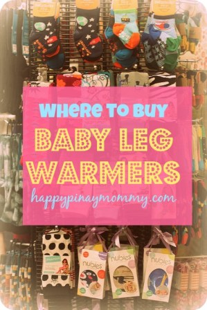 buy baby leg warmers in the Philippines