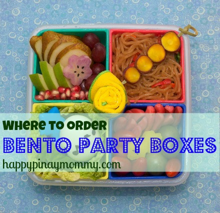 order bento party boxes in the philippines