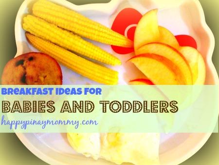 Breakfast Ideas For Filipino Babies Happy Pinay Mommy