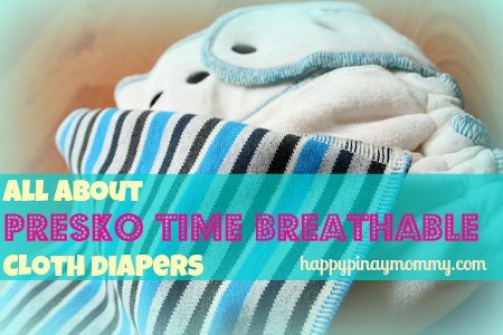 Presko Time Breathable Cloth Diapers. (Photo Credits)