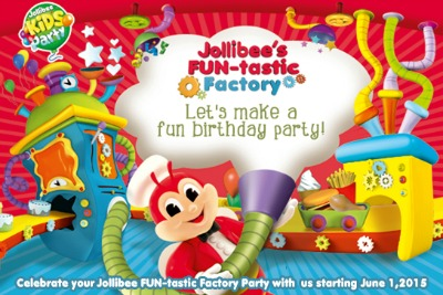 Looking for Fastfood and Restaurants with kiddie birthday party packages in the Philippines