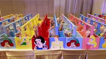 Handicrafts Atbp can come up with mini caddies customized for your child's party. (Photo taken from their FB Page)