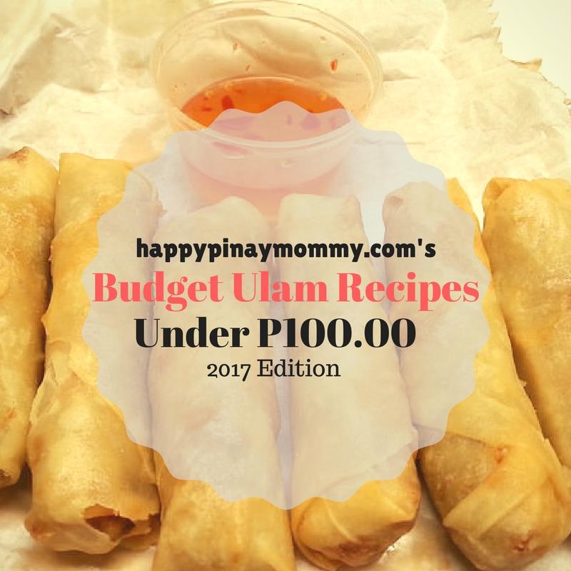 Budget Ulam Recipes under P100