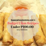 Budget Ulam Recipes under P100