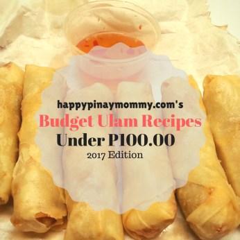Filipino budget ulam ideas below 100 pesos 2017 edition happy budget ulam recipes below 100 pesos forumfinder Choice Image