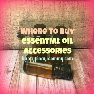 Where to buy essential oil accessories in the Philippines