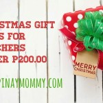 Christmas Gift Ideas for Teachers Under P200.00