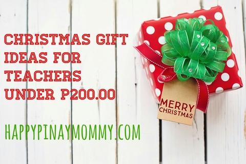 Christmas Gift Ideas for Teachers Under P200.00