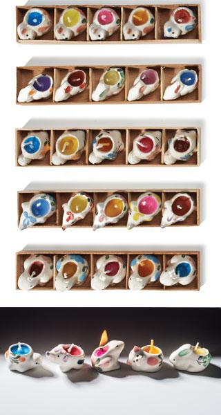 mini candles fairtrade