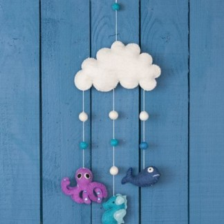 sea creature cloud mobile