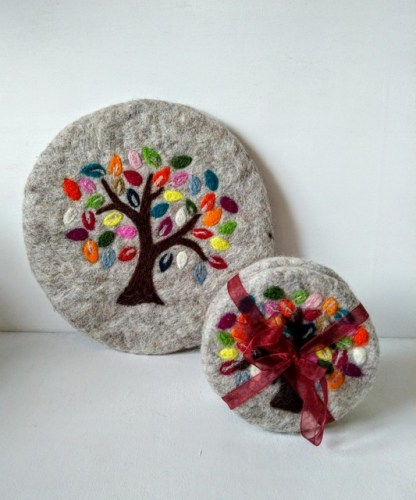 tree of life mats coasters