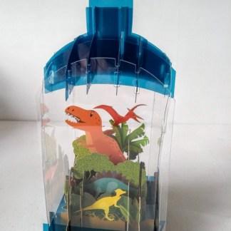 3D dinosaur card
