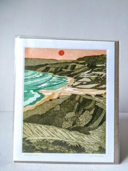 charmouth beach card