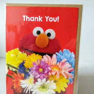 elmo thank you card