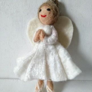 felt ballerina fairy