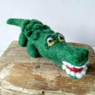 felt crocodile