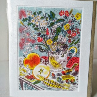 fox and grapes card