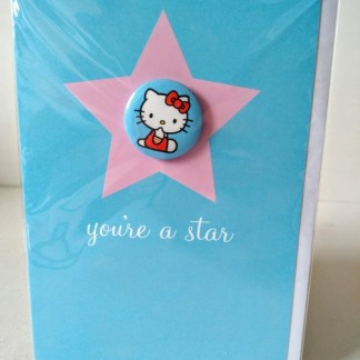 hello kitty star card
