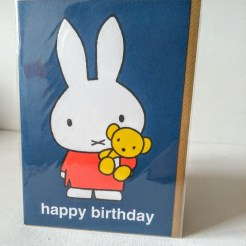 miffy birthday teddy