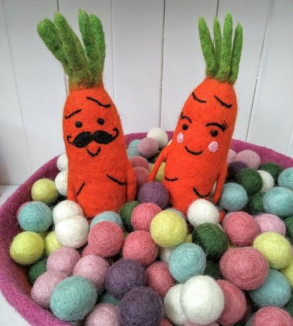 mr and mrs carrot