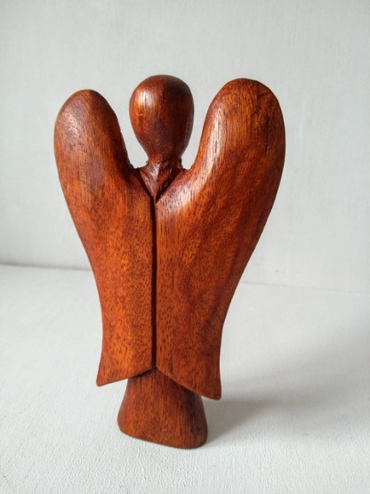 small carved angel 2