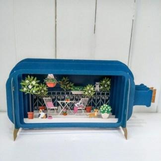cats in garden pop up