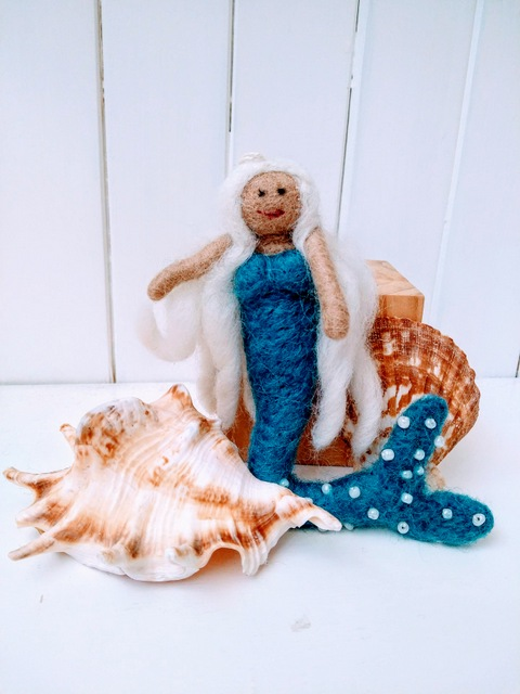 felt mermaid