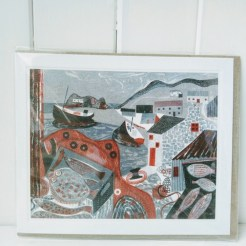 fish on the quay card
