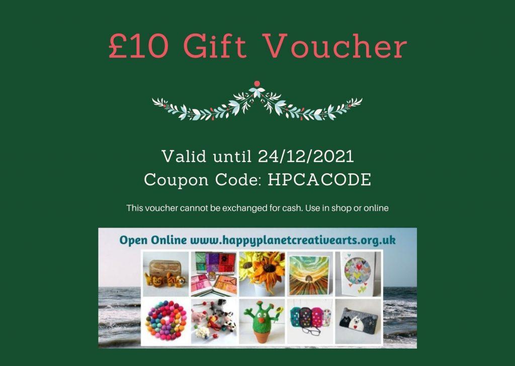 £10 Gift Voucher Example