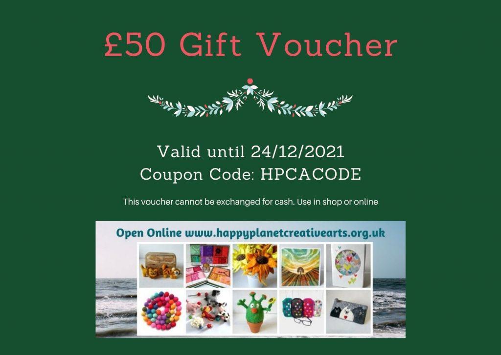 £50 Gift Voucher Example