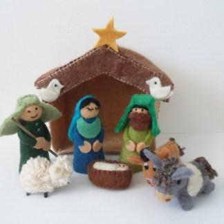 Coloured nativity