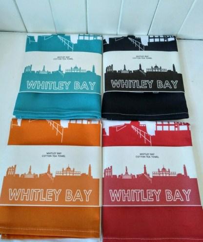 whitley bay teatowels