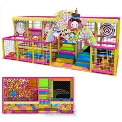 cara buka wahana anak indoor playground HAA044