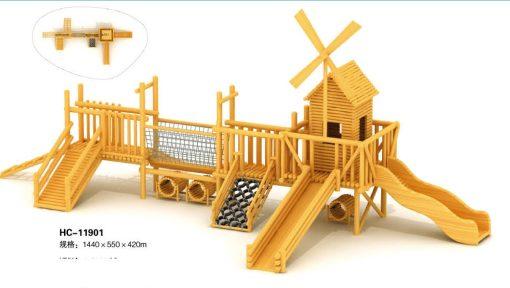 Jual Playhouse Wood Series Terpercaya