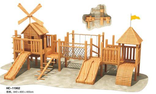 Jual Playhouse Wood Series Bersetifikat SNI