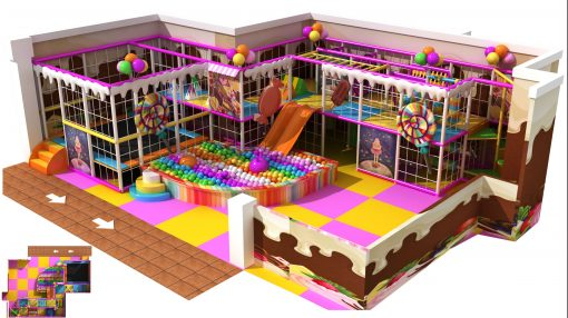 Jual Indoor Playground Middle AB11