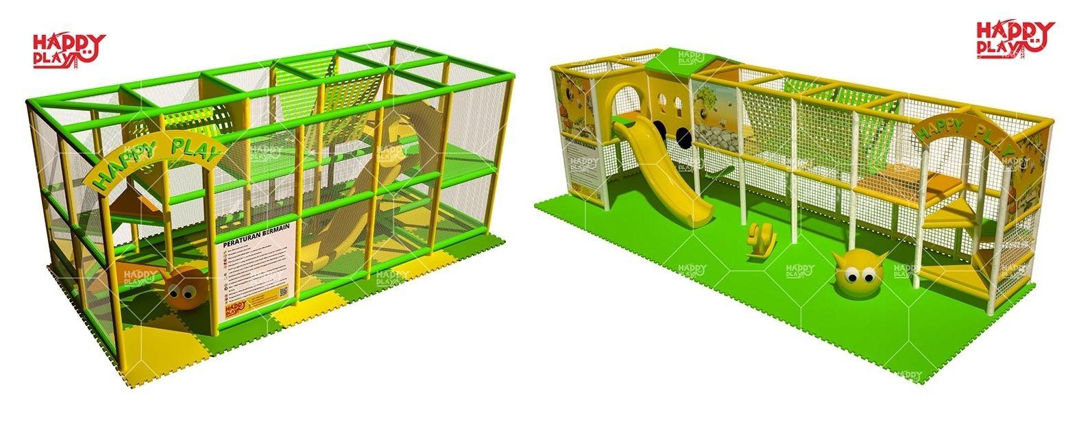 Pengusaha Permainan Penyewaan Playground Untung Besar