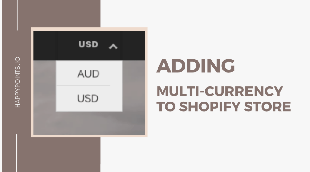 add multiple currencies Shopify without app