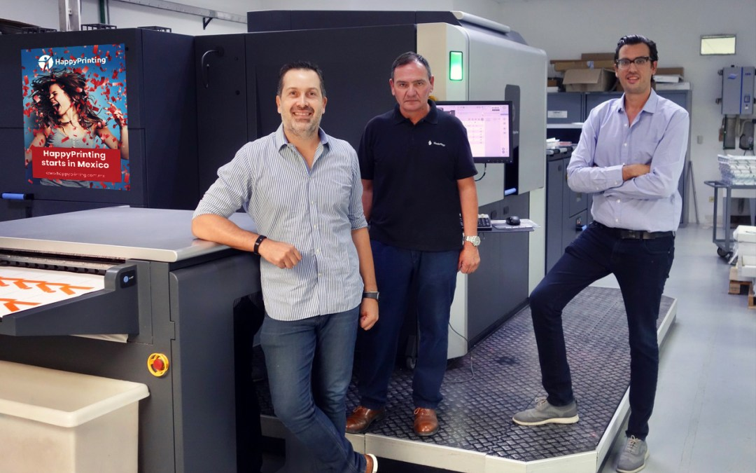HappyPrinting Starts in Mexico
