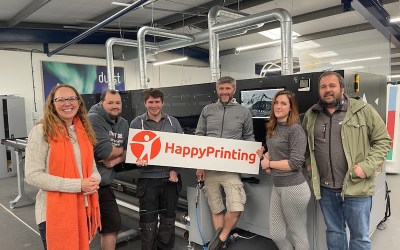 HappyPrinting starts in United Kingdom