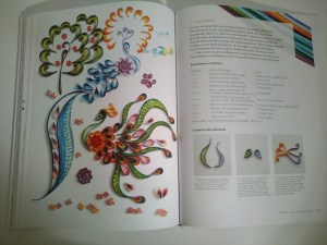 Les paons Quilling