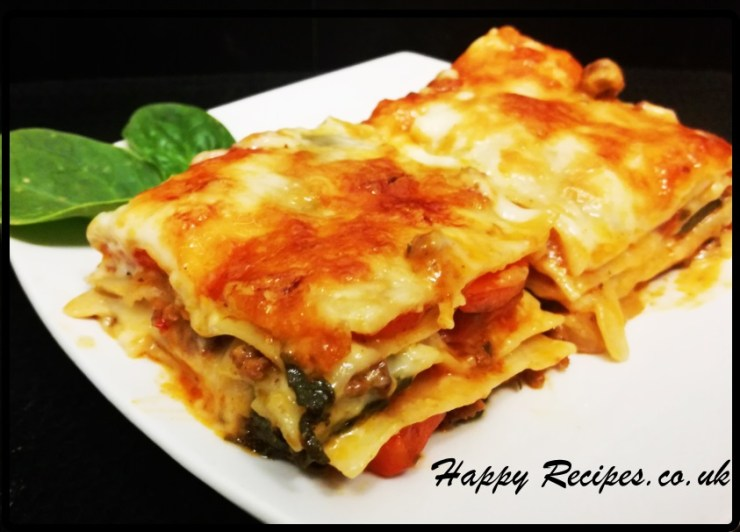 Lasagna-Homemade to perfection