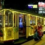 広電クリスマス電車2016の乗合乗車券の配布方法は?定員や時刻表も!
