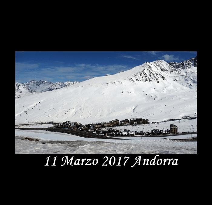 11 Marzo 2017 Andorra