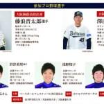 ベースボールフェスティバル大阪2018の日程や場所・参加方法や料金&参加選手まとめ!