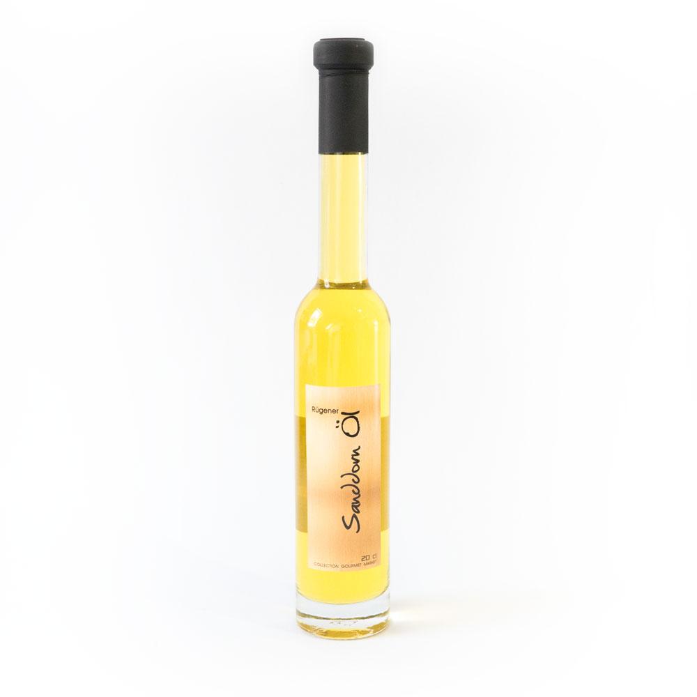 happysanddorn.com - Sanddorn Salatöl - Flasche